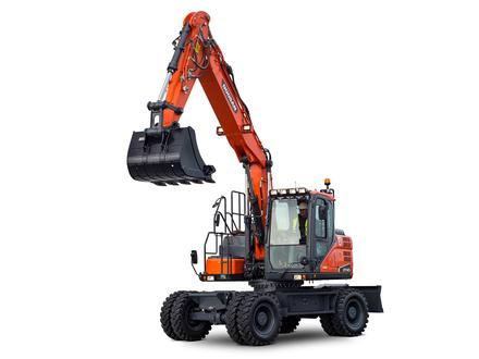 Wheeled excavators - DX140W‑5 (.. - ..)