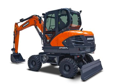 Mini excavators - DX57W‑5 (.. - ..)